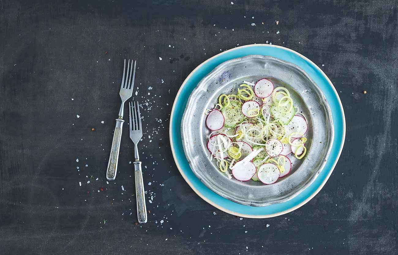 Sfizioso piatto di verdure