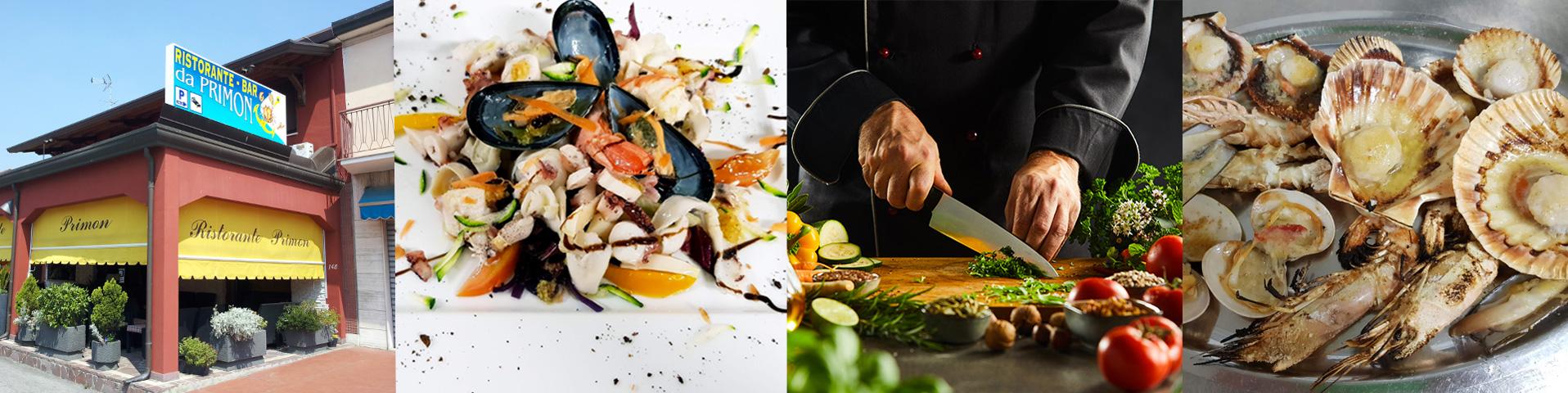 Collage ristorante cucina